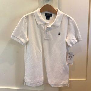 Boys Ralph Lauren Polo shirt - white 5